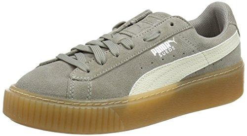 uede Platform SNK Jr Sneaker, Grau (Rock Ridge-Whisper White), 39 EU ()