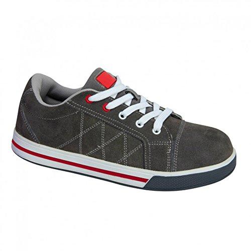 KREXUS Arbeitsschuhe Sneaker Sportlich Grau Gr. 44 EX11007-44 (Sneakers Sportliche)
