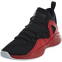 Nike Jordan - Zapatillas de Material Sintético Para Hombre Black White White 011 37, Color, Talla 39.5