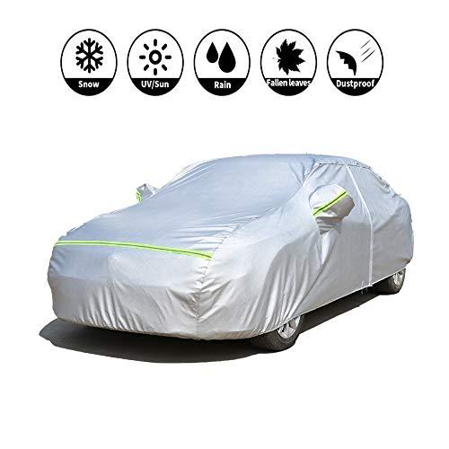 Jaxonn Home Limousine Auto Cover-SUV Full Car Covers-Wasserdichter Schutz Regen Staub Sonne UV Kratzfest-Allwetter-Schutz Mit Reißverschluss -Hyundai Automobile Indoor Outdoor Fit SUV Wagon