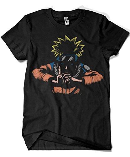 1578-Camiseta Naruto - Kage Busin No Jutsu (Legendary...