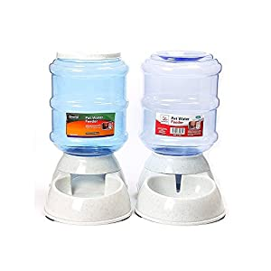 E-PET Distributeur Automatiques de Nourriture et d'eau pour Chat et Chien 3.5L Lot de 2pcs