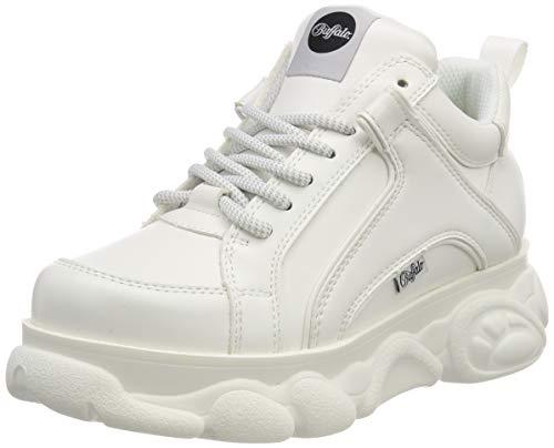 newest 50643 60136 Buffalo Corin, Zapatillas para Mujer, Blanco (White 000), 38 EU