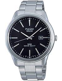 Pulsar Herren-Armbanduhr XL Modern Analog Quarz Edelstahl PX3023X1