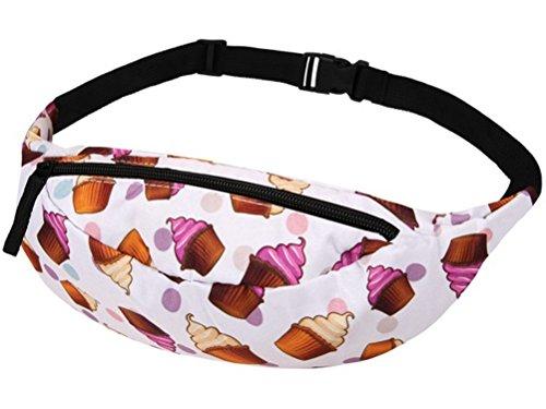 Cupcake Muffin Candy Gürteltasche Bauschtasche Hüfttasche (Tasche Candy)