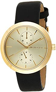 Michael Kors Womens Analogue Quartz Watch with Leather Strap MK2574