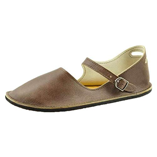Indigo Leder High Heels (LILIHOT R?mische Schuhe der Sommerfrauen Retro-Schnallen-B¨¹gelsandelholze-Student-Flache Untere Schuhe Damen Elastischen Sommer Sandalen B?hmische Zehentrenner Frauen Outdoor)