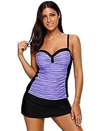 SunIfSnow Bikini - Tankini - Uni - Sans Manche - Femme Multicolore Multicolore Acheter Amazon Pas Cher Amazone Footaction HX8uWdIo
