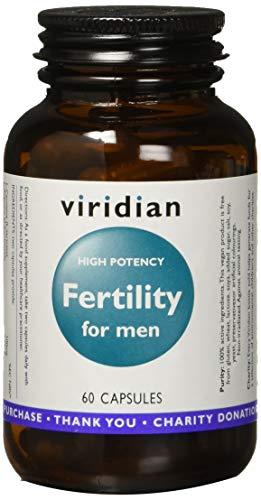 Viridian Fertility para Hombre, 60 Cápsulas, Pack de 1