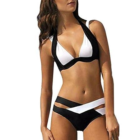 Malloom Maillot de bain bandage sexy femmes Nager Impression d'usure de plage