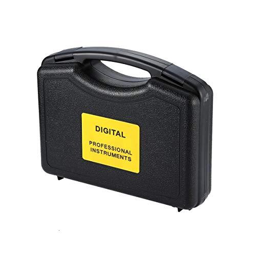 Gugutogo Misuratore di spessore ad ultrasuoni portatile Ht-1200 con display LCD a quattro cifre Grigio e arancione