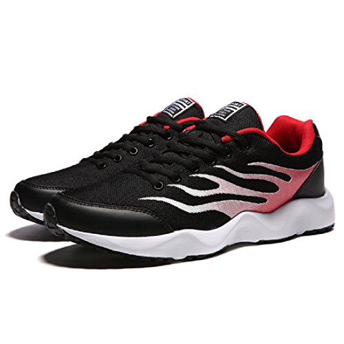 Hommes Chaussures de sport Entraînement Baskets Respirant imperméable Chaussures de course Chaussure de basket-ball Black