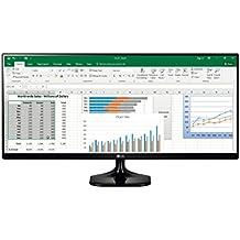 LG 25UM58-P - Monitor UltraWide de 64 cm (25 pulgadas, Full HD, IPS, LED, 2560 x 1080 pixeles, 5 ms, 21:9, 200 cd/m2, Screen split) Color Negro