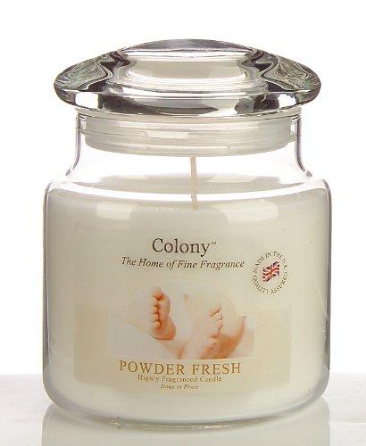 Wax Lyrical Duftkerze im Glas, groß 80 h - Powder Fresh (Baby Puder)