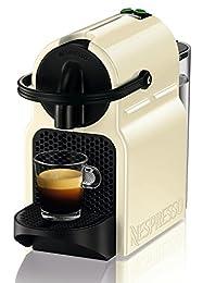 De'longhi Nespresso Inissia EN80.CW - Cafetera automática, 19 bares, color crema