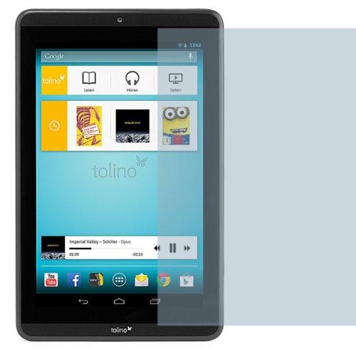 4ProTec 2X Tolino Tab 8 ENTSPIEGELNDE Displayschutzfolie Bildschirmschutzfolie - Nahezu blendfreie Antireflexfolie