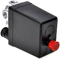 Válvula de control del Presostato de compresor de aire Heavy Duty Negro 1pc