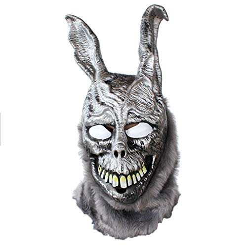 WCL Angry Rabbit Maske Böse Silber Bunny Tier Kopf Abdeckung Bar Party COS Show Parodie Ghost
