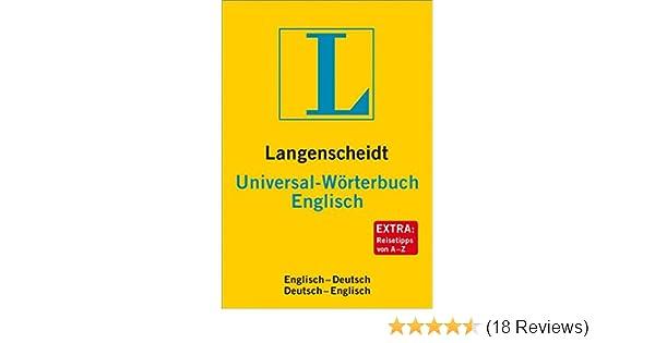 Langenscheidt Universal Wörterbuch Englisch Neubearbeitung