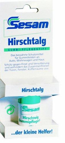 Sesam Autopflege Hirschtalg Gummipflegestift Pflegestift für Gummi