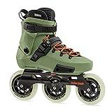 Rollerblade Patines Twister Edge Edition #2, Adultos Unisex, Verde Oliva/Naranja, 40