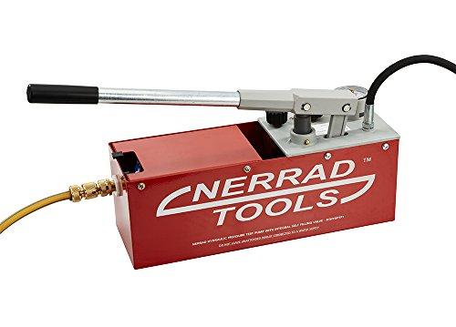 Nerrad outils Nthydptp Pompe d'épreuve de pression hydraulique avec Integral Self flotteur, Noir