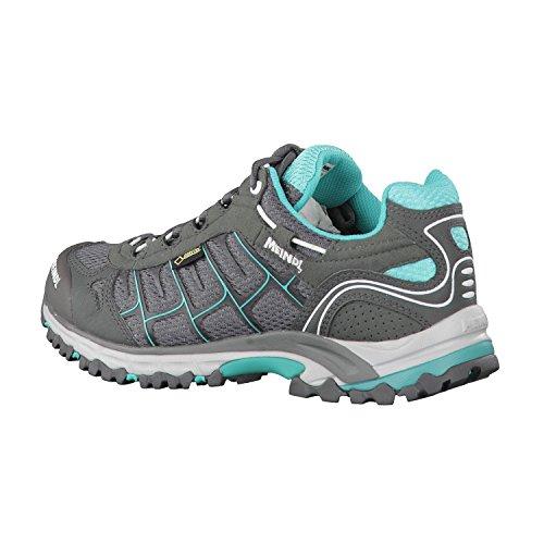 Meindl  Cuba Lady GTX, chaussures de sport - outdoor femme Steingrau/Türkis