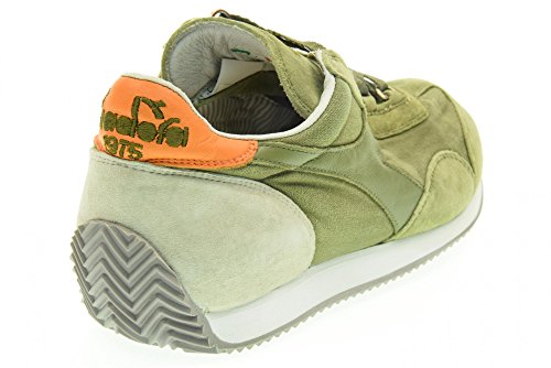 Diadora Equipe Stone Wash 12, Chaussures Basses Mixte Adulte Verde