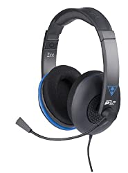 Turtle Beach - Ear Force P12 - Amplified Stereo Gaming Headset - Ps4, Ps Vita, & Mobile Devices - Ffp By Turtle Beach