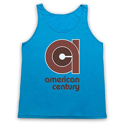 vinyl-american-century-record-label-camiseta-de-tirantes-azul-neon-2xl