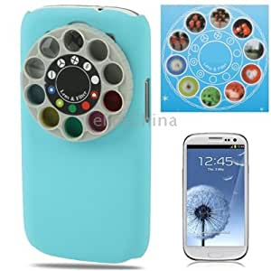 Special Lens Filter Turret Case Cover for Samsung Galaxy SIII / i9300 (Blue) , Original Version