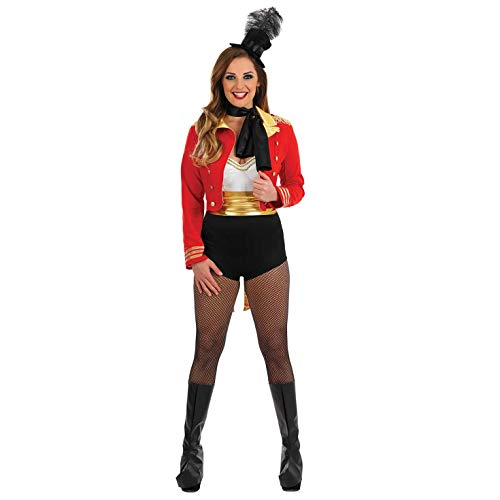 Direktorin Kostüm - Fun Shack Damen Costume Kostüm, Ringmaster Dress, Größe S