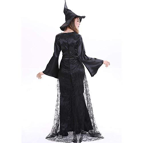 PIN Olympia halloween kostüme frauen lange bleach hexenkleid halloween hexenkostüm,B,M (Lustige Olympia Kostüm)