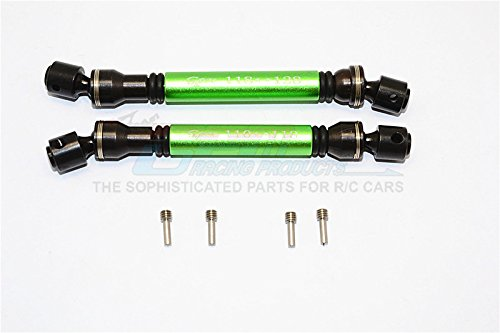 Gmade Sawback Tuning Teile Steel+Aluminium Front & Rear Main Drive Shaft (F:118mm-128mm,...