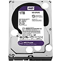 "Western Digital Purple - Disco duro interno de 1 TB (Serial ATA III, 5400 RPM, 3.5"", Surveillance System), Púrpura"