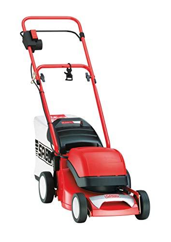 SABO Elektro-Rasenmäher 36-EL, Schnittbreite von 36 cm, Robustes Alu-Chassis, zentrale Schnitthöhenverstellung, geringes Gewicht, Nennleistung von 1,3 kW.