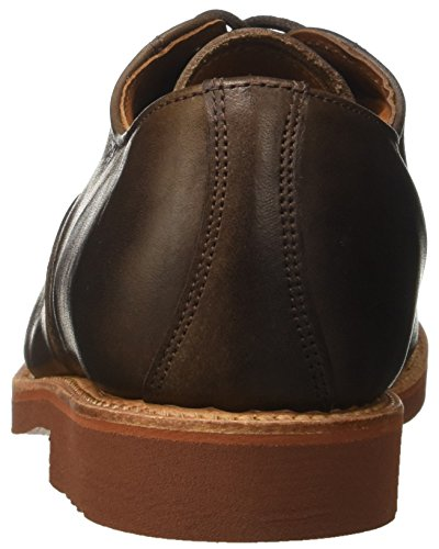 WALKOVER George, Richelieu homme Marrone (Dark Brown Leather)