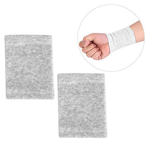 Naroote Handgelenkschutz, Bambuskohle-Handgelenkschutz Sportgymnastik-Wärmeschutz Elastischer Wärmeschutz Schweißband Handgelenk (Tastatur Wrist Guard)