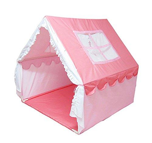 SESO UK- PRINCIPE O PRINCESA PALACIO DE VERANO CASTILLO NIñOS NIñOS JUGAR TENT HOUSE INTERIOR JARDIN JUGUETE PLAYHOUSE PLAYA SUN TENT BOYS GIRLS (110X110X115CM)