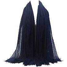 MRULIC Echarpes foulards femme Foulards Echarpe Foulard Long dame écharpe  châle écharpe femme écharpe wrap écharpes 7521b33f74f