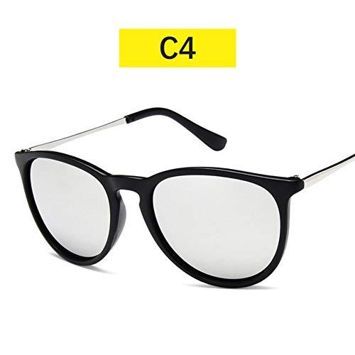 Loving Bird Black Mirror Sonnenbrille Damen Klassische Sonnenbrille Herren Markendesigner 2019 Damen Sonnenbrille UV400 Oculos De Sol, Farbe 4