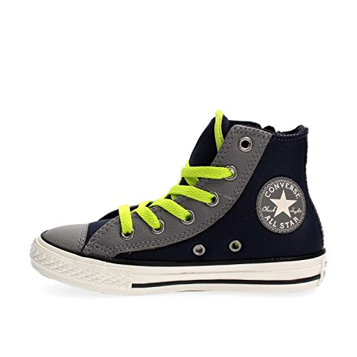 CONVERSE 655129C ALL STAR HI SIDE ZIP OBSIDIAN SNEAKERS OBSIDIAN 28 -
