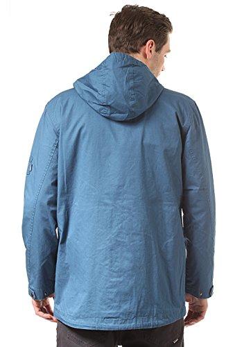 Cleptomanicx Robb Jacke (petrol blue) Blue
