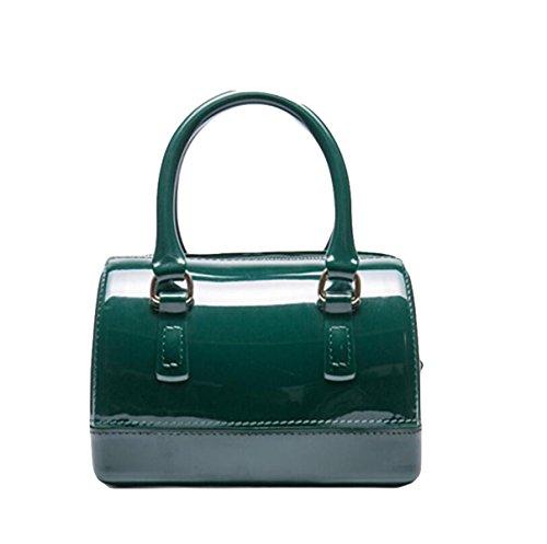 Handtaschen Kissen Tasche Tasche Süßigkeiten Tasche Handtasche Einfache Atmosphäre Elegant Green