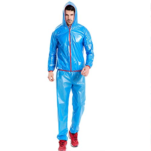 Vige Breathable Wicking Fabric Plastic Riding Outdoor Sports Raincoat Bicycle Split Waterp
