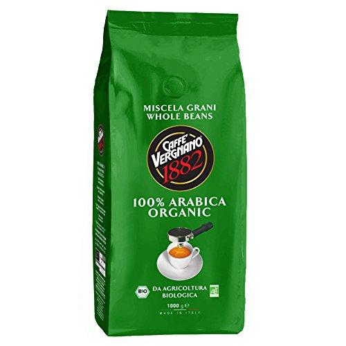 Caffè Vergnano 1882 Sacco Bio, 1 kg - 1 Pacchetto