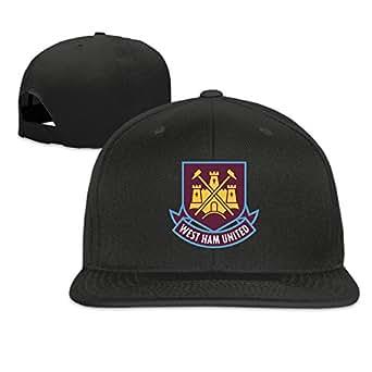 YA-HiUK West Ham United Football Club Peaked Baseball Cap Snapback Hats