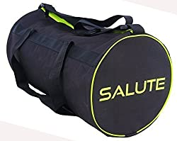 Salute Black Polyester 16 Ltrs, 850Cms Gym Bag