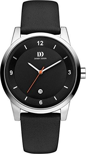 Danish design Unisex-reloj IQ13Q1084 analógico de cuarzo cuero IQ13Q1084