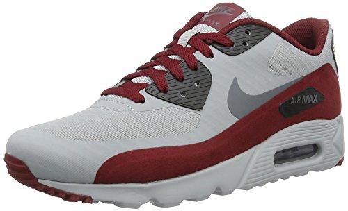 Nike 819474-012, Scarpe Sportive Uomo Multicolore (Wolf Grey/Dark Grey/Black/Team Red)
